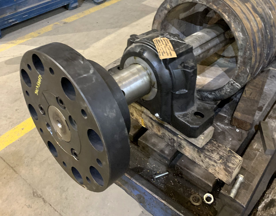 Refurbishment of pumps, blowers, air seals, rotary valves and fluid drives