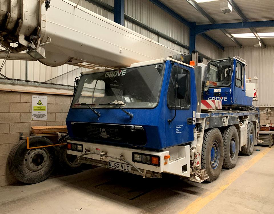 Mobile Crane & Transport / Grove 3050 (50t)