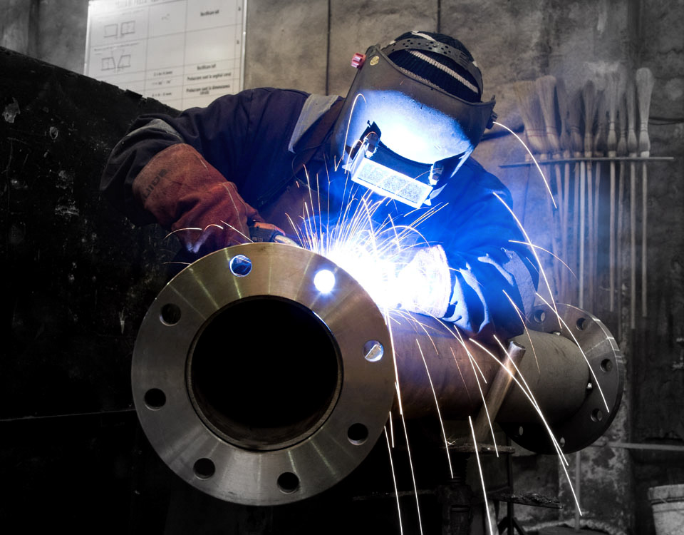 We offer a range of metal welding services and are certified in accordance with current British and European standards